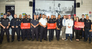 Fans for the Cure hosted a PSA Screening at Yankee Stadium
