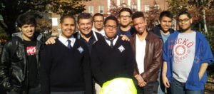 All Hallows High School students-prostate cancer awareness walk
