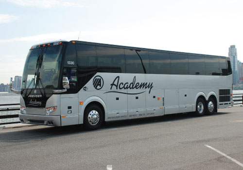 Academy Bus: Official Sponsor of the Summer Road Trip 2017
