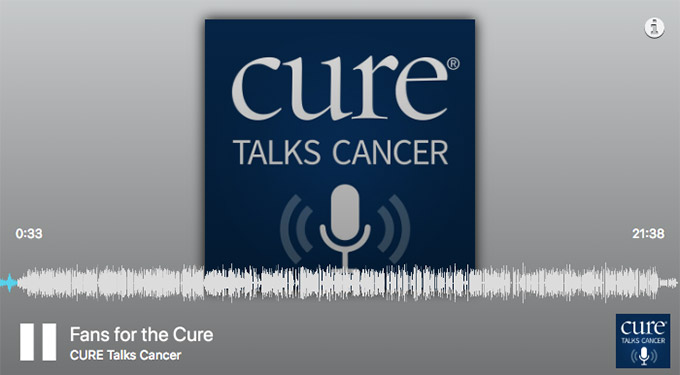 Cure Talks Cancer featuring Ed Randall discussing prostate cancer awareness