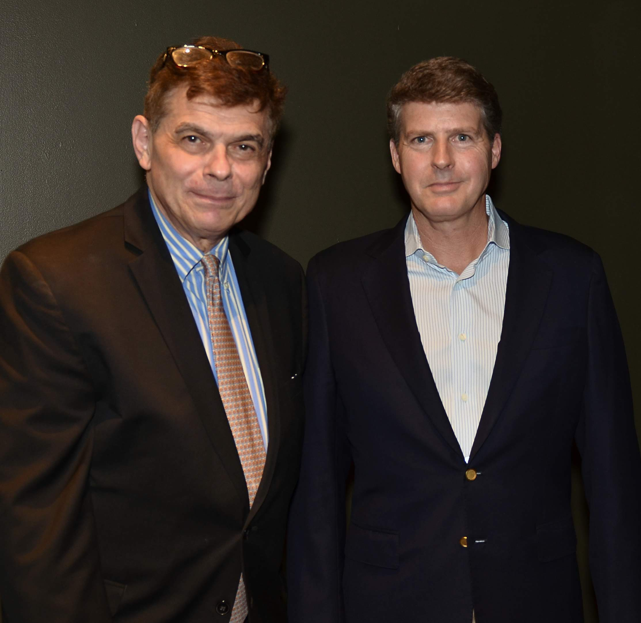 Ed Randall, Fans for the Cure, and Hal Steinbrenner, New York Yankees