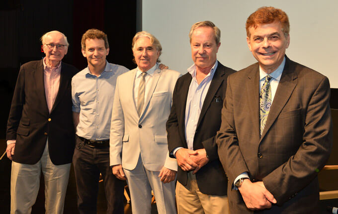 Fans for the Cure Panel Discussion with Al Tapper, Nick Davis, Ben Bradlee Jr. and Dick Flavin