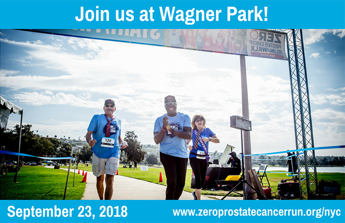 Zero Prostate Cancer - Run/Walk in NYC 2018