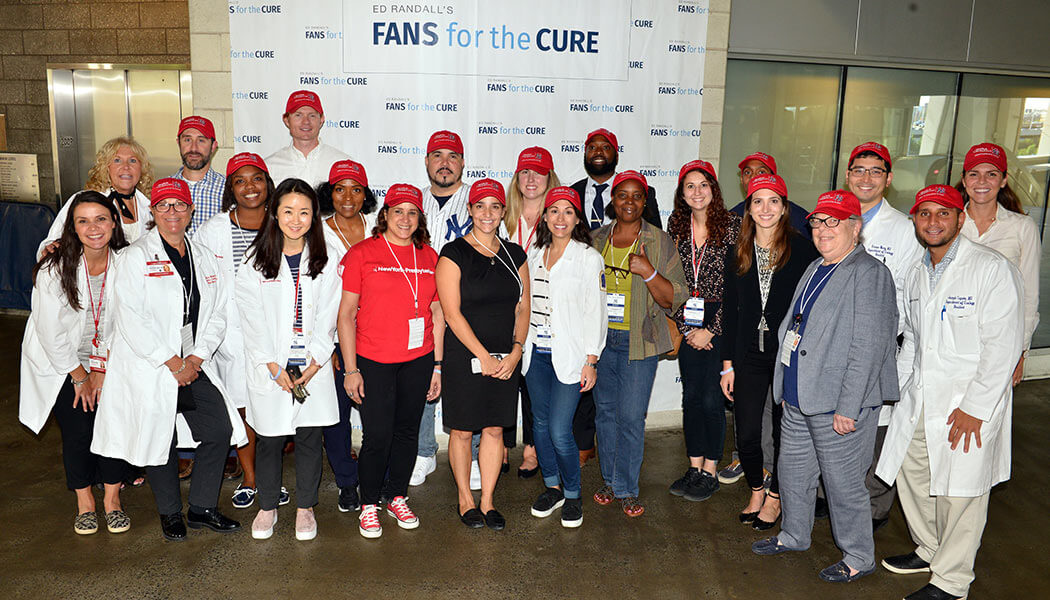 The medical team at the free PSA screening at Yankee Stadium