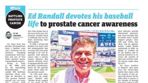 AM New York Metro article about Ed Randall and Fans for the Cure