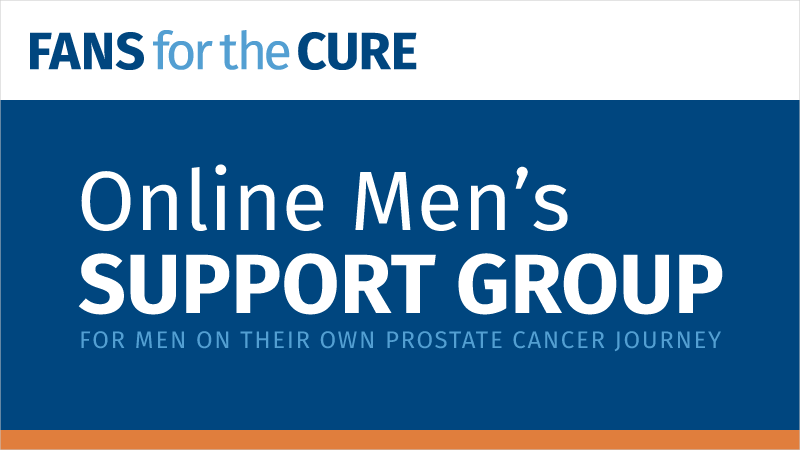 Fans for the Cure's Online Men's Support Group
