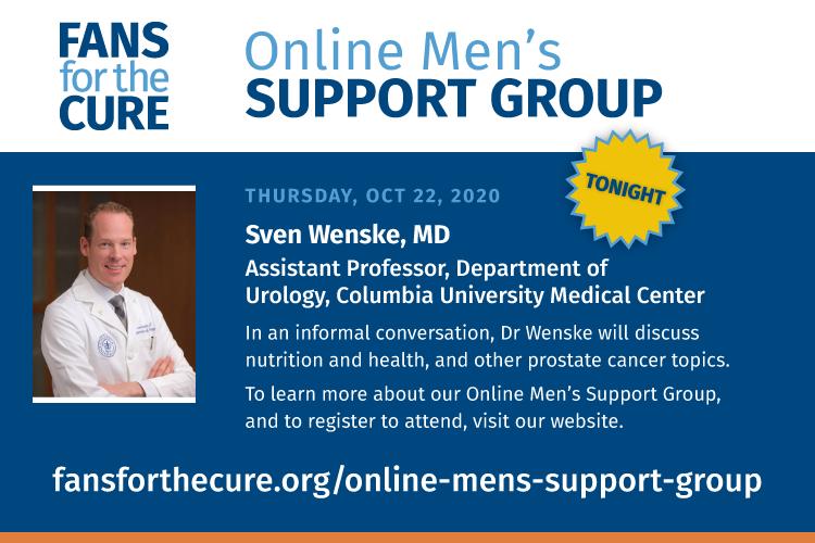 Sven Wenske, MD, talks nutrition and prostate cancer
