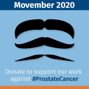 Fans for the Cure Movember 2020 campaign