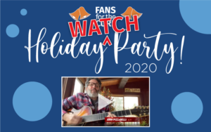 """Watch Party"" for the Holiday Party video"